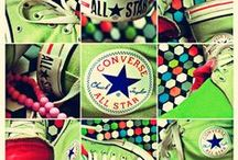 Converse / all stars / by jacqueline van Seters