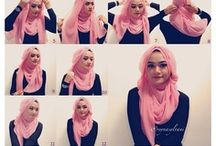 Hijab tutorial / by Minan Wahiyd