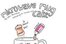 Microonde ❤ ricette veloci / Ricette di dolci in Mug al microonde