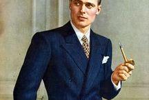 1920-1945 Menswear Art Deco & WWII / Vintage menswear, art deco men's fashion, 1920s, 1930s, 1940s, Art Deco, WWII Era, men's fashion, vintage men's fashion