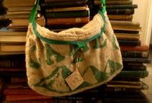 Bags / These are lots of the bags that Fearfully Made creates  #hessian