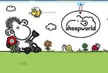 Sheepworld / Společnost se specializuje na design, výrobu a distribuci blahopřání a pohlednic, na kterých hlavní roli hrají ovečky, které jsou představovány a vytvářeny s velkou láskou: ovečky jsou - trendové, nervózní, roztomilé, rozpustilé a krásné v charakteristickém černo-bílém provedení, které prostě vynikne kdekoliv (tedy kromě stáda ovcí). Sortiment této báječné kolekce se rychle a úspěšně rozšířil na dárky, papírenský a školní sortiment, který najdete v mnoha zemích po celém světě.