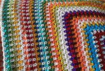 Crochet DIY / Wat ik leuk vind om te haken. Katoen en kleur.