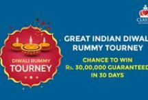 Classic Rummy Diwali Offers / This board briefs you about Classic rummy's Diwali offers for Indian Rummy Players