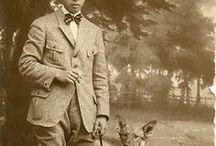 Menswear WWI 1900-1919 Edwardian / Vintage Menswear, Edwardian Menswear, Men's Fashion, 1900s, 1910s, Edwardian Era