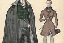 Menswear 1800s and Older / Vintage Menswear, Men's Fashion, Antique Fashion1800s, 1700s, 19th Century, Victorian Men's Fashion