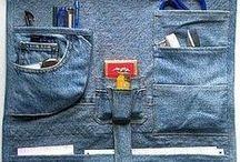Джинса / изделия или переделки из джинсовой ткани