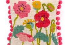 Easter needlepoint kits / needlepoint kits with lovely spring designs
