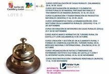 Curso gratuitos turismo Castilla y León / # TurismoRural Cursos gratuitos de formación turística para el subsector de turismo rural en Castilla y León