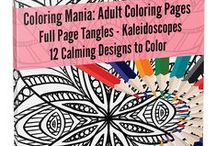 Adult Coloring Books & Pages