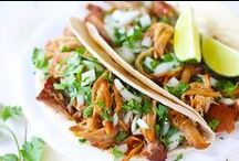 Just Tacos! / Corn or flower tortillas filled with absolutely divine fillings. Fresh and easy to create.