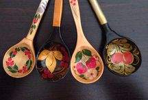Spoon / Handmade, handcarved, wooden