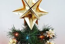 Origami - Christmas Decor / Handfolded from PAPYRUS gift wrap