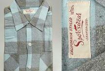 Vintage Men's Shirts & Sweaters / Vintage menswear. Shirts, t-shirts, tank tops, sweaters & cardigans.
