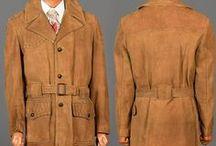 Vintage Men's Outerwear / Vintage menswear, vintage mens coats, vintage men's jackets, winter coats, men's fashion