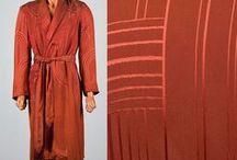 Vintage Men's Loungewear & Underwear / Vintage menswear, men's robes, men's underwear, long johns, thermal underwear