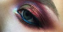 Makeup Ideas: Eyes + Eyeshadow / Feast your eyes on this. These eyeshadows, eye pencils, mascaras + eye glazes brighten up lids as quick as a wink. Visit us at: http://www.orglamix.com for more natural EYE makeup + cruelty free cosmetics.