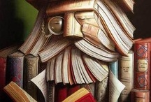 Book Sculptures and Book Art / Books never die - they just become even more amazing works of art.