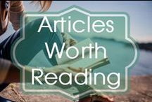 LDS Articles Worth Reading / Articles about excellent teaching or developing yourself as a teacher.