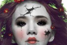 Hallowen Makeup + Nails / by orglamix natural beauty