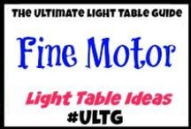 Light Table Fine Motor / #ULTG #lighttable #lighttables#finemotor #smallmotor  #lightplay #OT #PT #homeschool #learning #teaching #lightbox #playingwithlight #sensory #sensoryplay #sensorybins #sensoryboxes