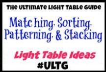 Light Table Matching, Sorting, Patterning, and Stacking / #ULTG #matching #sorting #patterning #stacking #finemotor #smallmotor #lighttable #lighttables #lightplay #homeschool #learning #teaching #lightbox #playingwithlight #sensory #sensoryboxes #sensorybins #sensoryplay #slime #goop #gak #sillyputty #oobleck #ice #waterbeads #waterpolymers #sillysquares