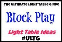 Light Table Block Play / #blocks #blockplay  #lighttable #lighttables #lightplay #homeschool #learning #teaching #lightbox #playingwithlight #sensory #sensoryboxes #sensorybins #sensoryplay #slime #goop #gak #sillyputty #oobleck #ice #waterbeads #waterpolymers #sillysquares