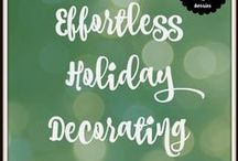 The Holidays: Simplified / Mommy hacks to survive the stressful holiday season!