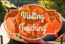 Visiting Teaching / This Pinterest board shares ideas for Visiting Teaching and developing our stewardship as visiting teachers.