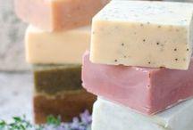 DIY Soaps + Scrubs / Ideas and Recipes for Vegan, Natural, Homemade, DIY Soaps and Body Scrubs (Salt Scrubs, Sugar Scrubs, Coffee Scrubs, etc.)