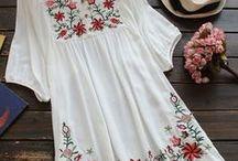 Boho Chic Fashion Inspiration / Women's Fashion Inspiration for your Boho Chic, Bohemian, Modern Hippie, or Gypsy Style!