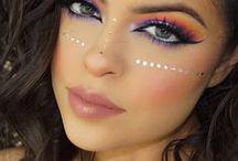 Festival Makeup + Style / Coachella Festival Makeup, Coachella Style, and other tips for the Coachella Music Festival!!!!