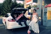Ślubne auto