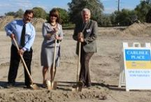 Carlisle Place - First Stage / Ground Breaking Ceremony - 3800 South 700 West