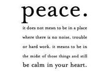 PEACE * love silence