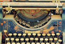 Typewriters. / Beautiful machines.
