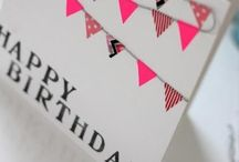 Let's celebrate! / Birthday Gift ideas, greeting card ideas, and further party stuff