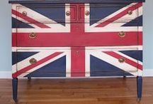 Decor Theme: Union Jack / A collection of ideas for using the union jack in your home.