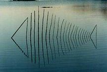 ART...Land Art <3 <3 <3 / What medium could anyone have GREATER, than that created by Nature itself!!!!!!! / by Ronnie Turner