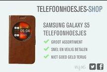 Samsung Galaxy S5 hoesjes / Bekijk onze Samsung Galaxy S5 hoesjes. Heb je een ander type toestel? Grote kans dat we ook het juiste telefoonhoesje voor jou hebben. Kijk op Telefoonhoesjes-shop voor meer info