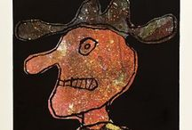 Jean DUBUFFET 1901 - 1985 / art, artiste
