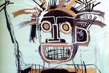Jean Michel Basquiat / art, artiste,