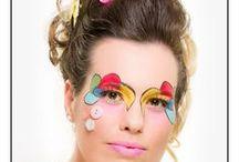 Models, Makeup and stylists / Newport events Big makeup shoot