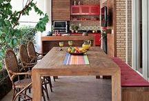 Casa: Salas / Imagens como sugestão de modificação de ambientes