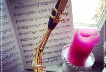 Alt saxofoon muziek