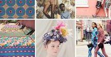 L'Afrique, c'est chic! / African inspiration in fashion, decoration, art.... We love Africa ❤️