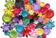 Petals for hair bows / Petals for scrapbooking or making flower hair bows and flower headbands.