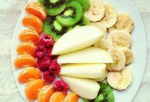 Healthy choices :) / Healthy ways that still look scrumptious !