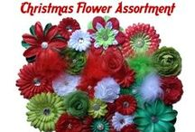 Holidays / Supplies for making hair bows for holidays. Found at www.boutiquesupplyco.com