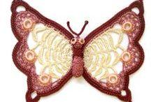 Butterfly - hekle